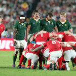 The Boks against Wales