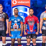 The Super Rugby teams in their Super Hero kits
