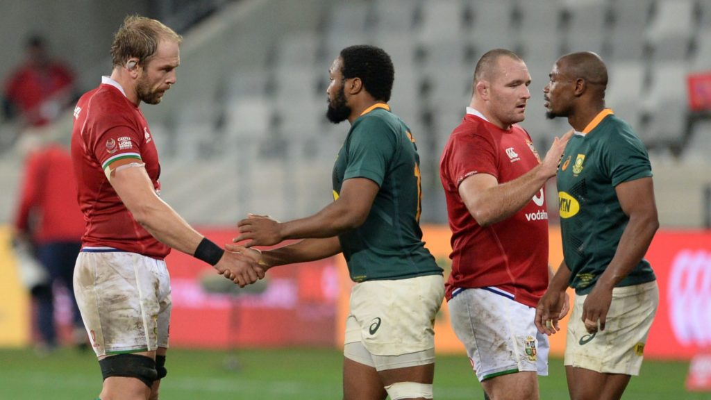 Gatland reveals how tactical switch helped Lions beat Springboks
