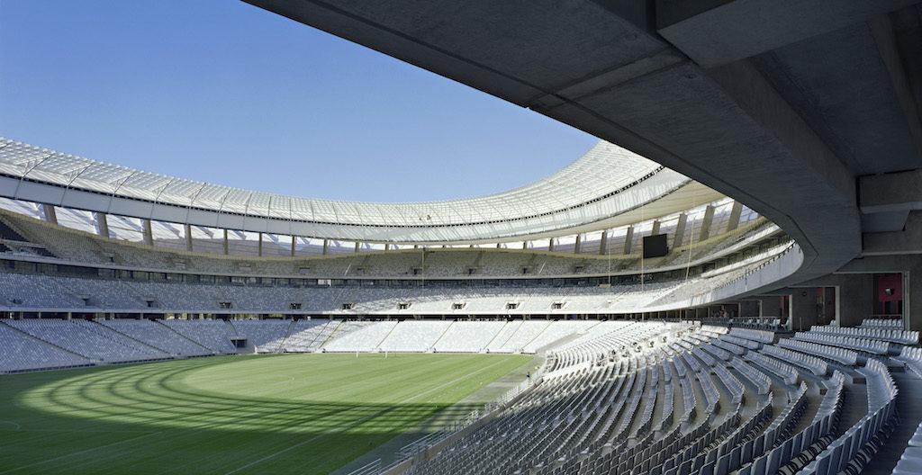Cavernous Cape Town Stadium