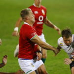 Duhan van der Merwe against the Sharks