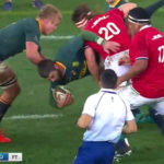 Watch: Watson's tip tackle on Le Roux